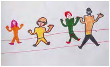 dessin enfant divorce